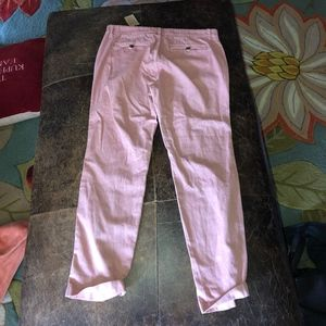 J. Crew faded red capris NWT